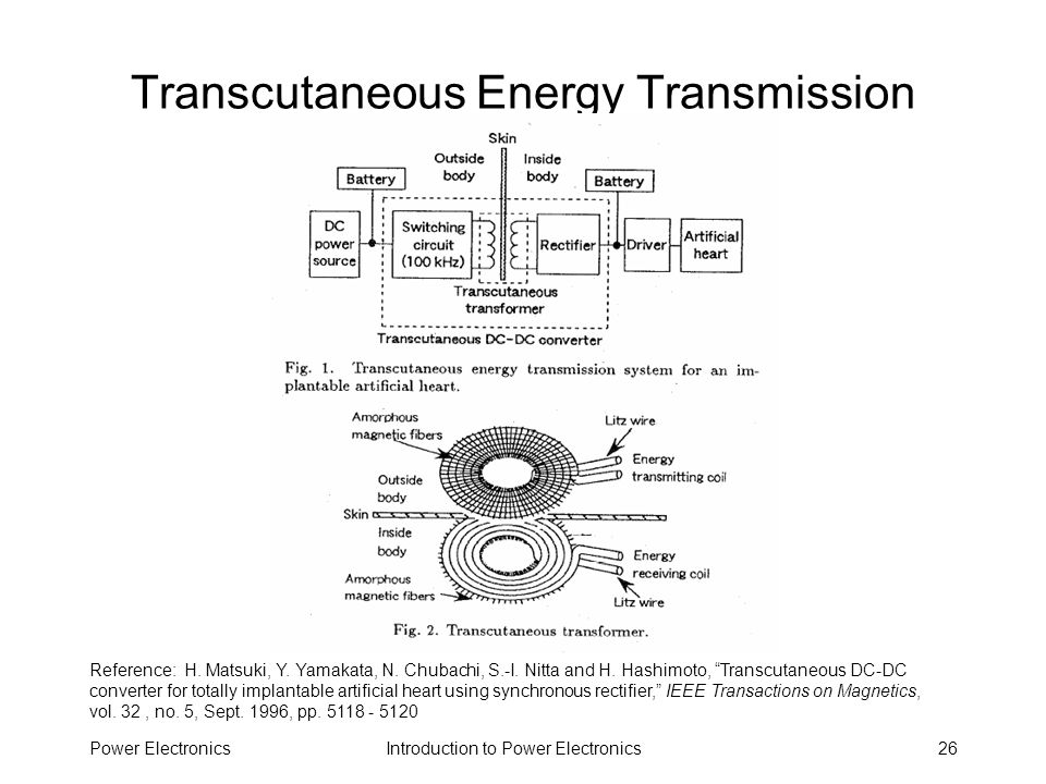 Transcutaneous Energy Transmission