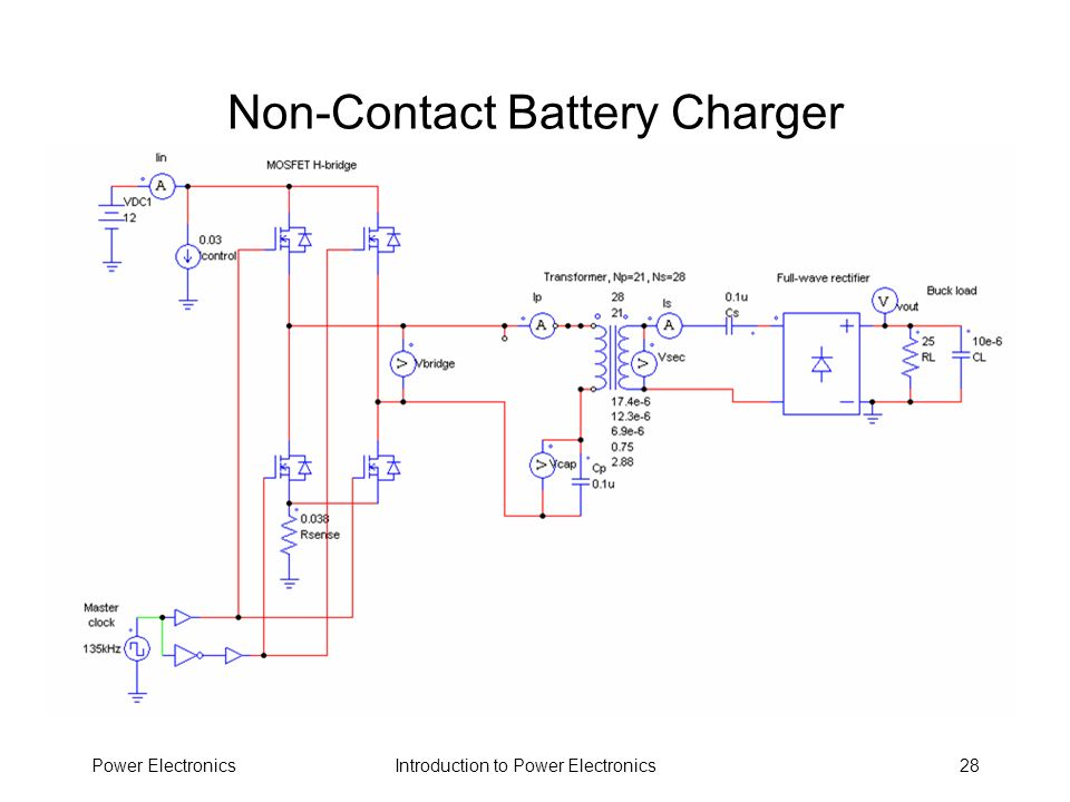 Non-Contact Battery Charger