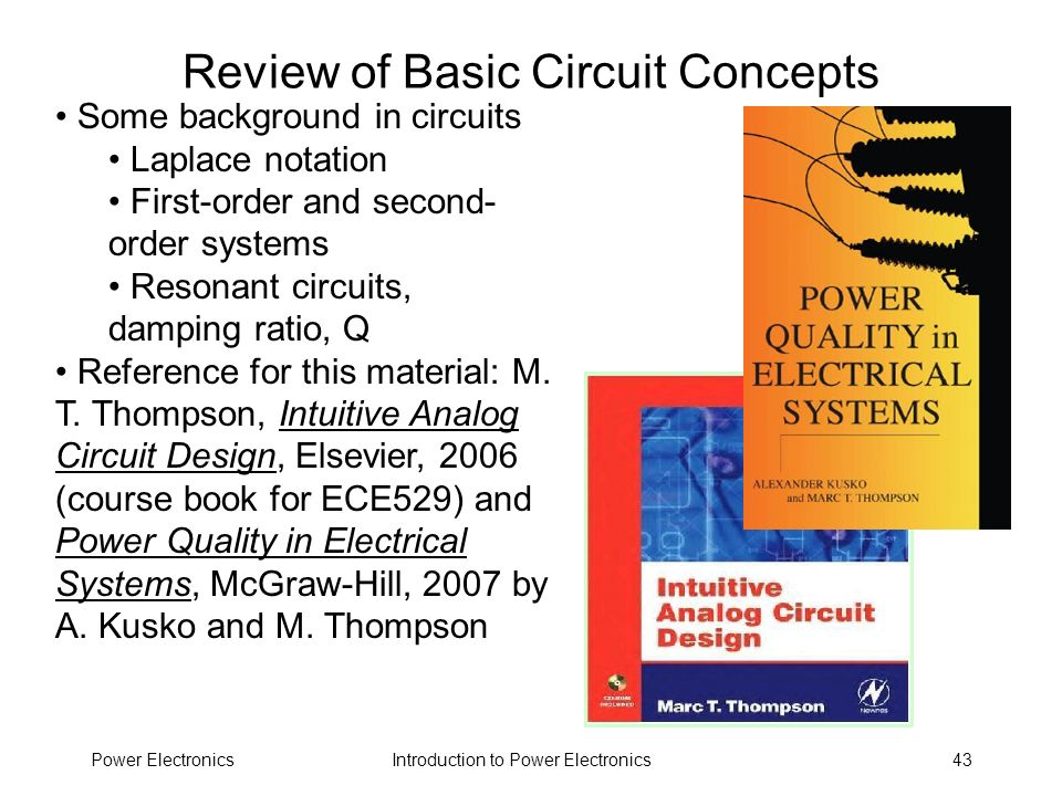 Review of Basic Circuit Concepts