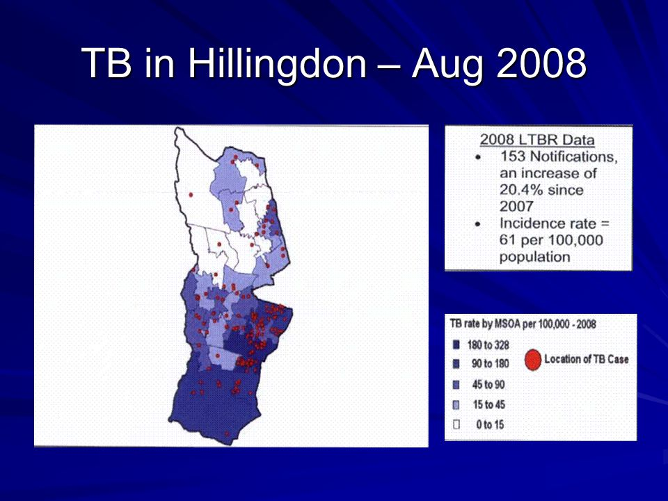 TB in Hillingdon – Aug 2008