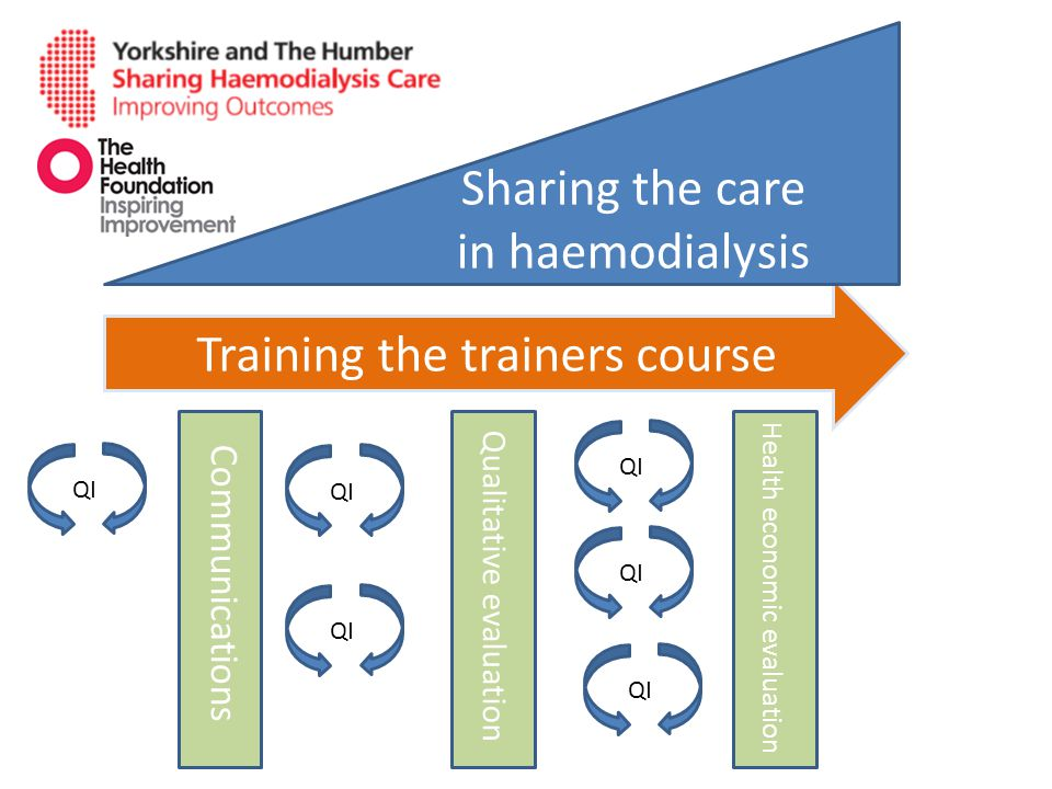 Sharing the care in haemodialysis
