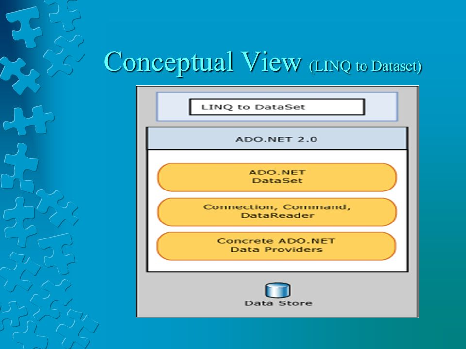 Conceptual View (LINQ to Dataset)