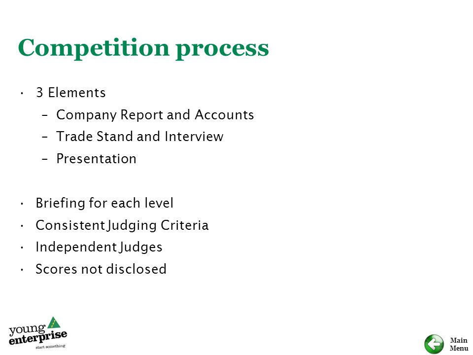 Competition process 3 Elements Company Report and Accounts