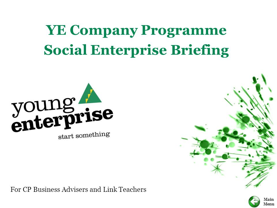 For CP Business Advisers and Link Teachers