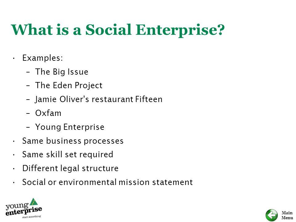 What is a Social Enterprise