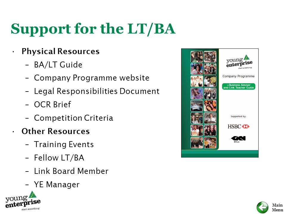 Support for the LT/BA Physical Resources BA/LT Guide
