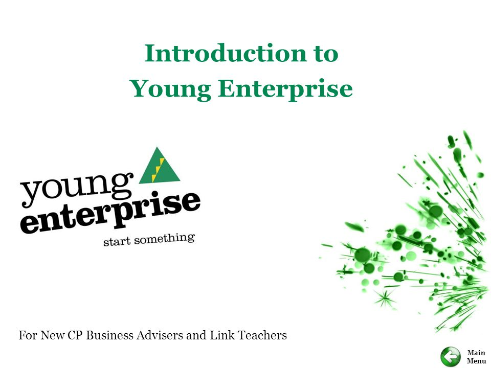 For New CP Business Advisers and Link Teachers