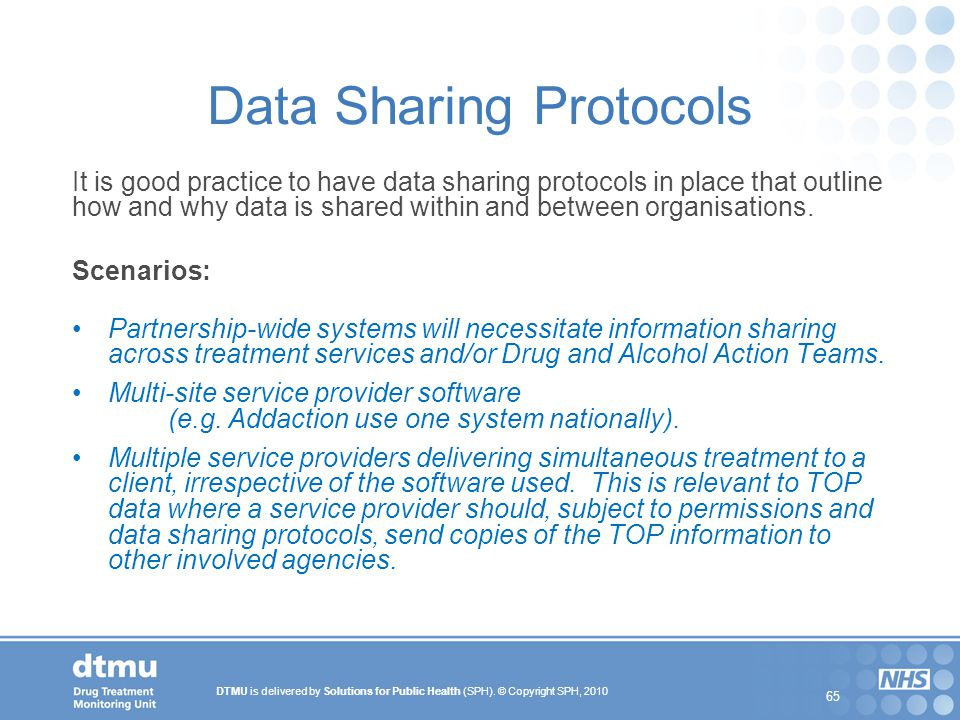 Data Sharing Protocols