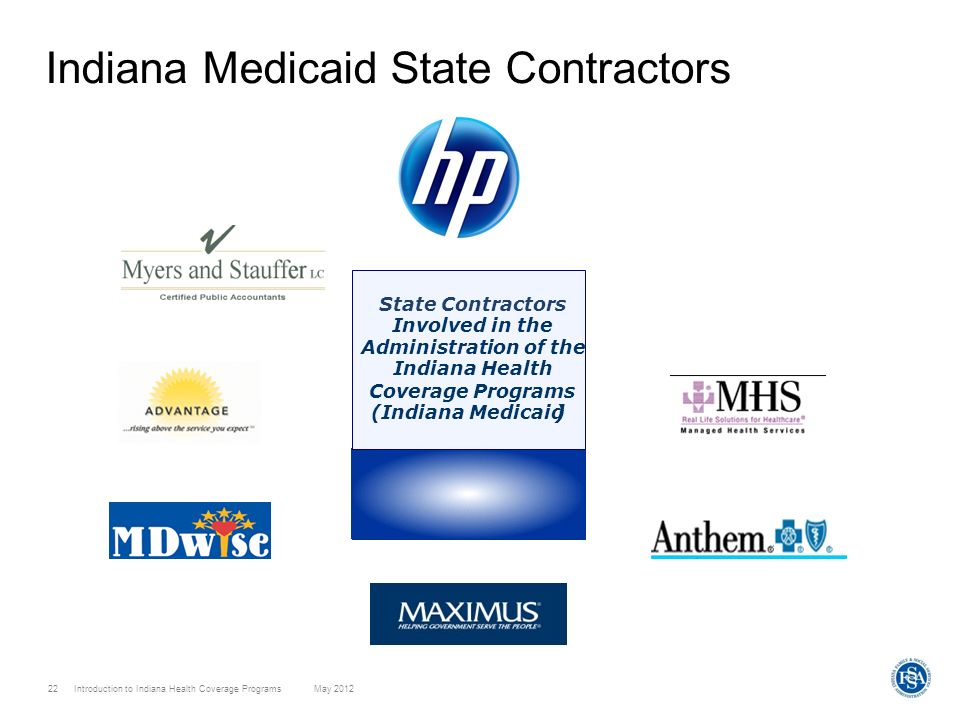 Indiana Medicaid State Contractors