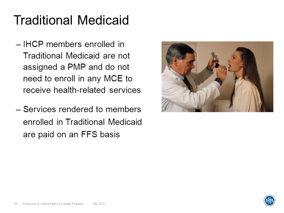 Traditional Medicaid