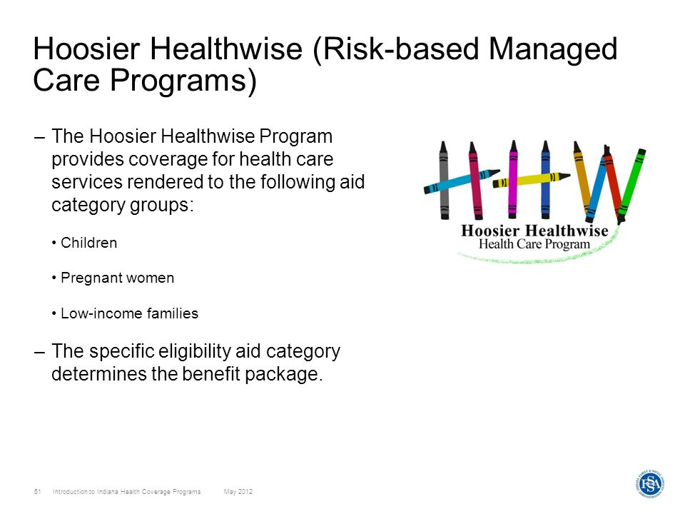 Hoosier Healthwise (Risk-based Managed Care Programs)