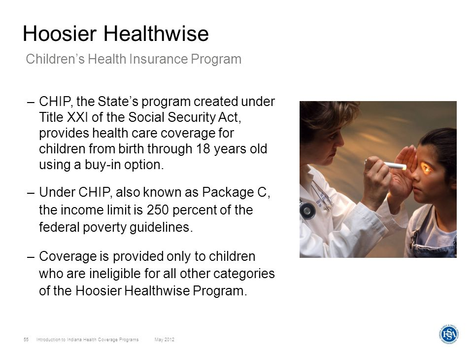 Hoosier Healthwise Children's Health Insurance Program