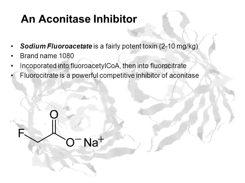 An Aconitase Inhibitor