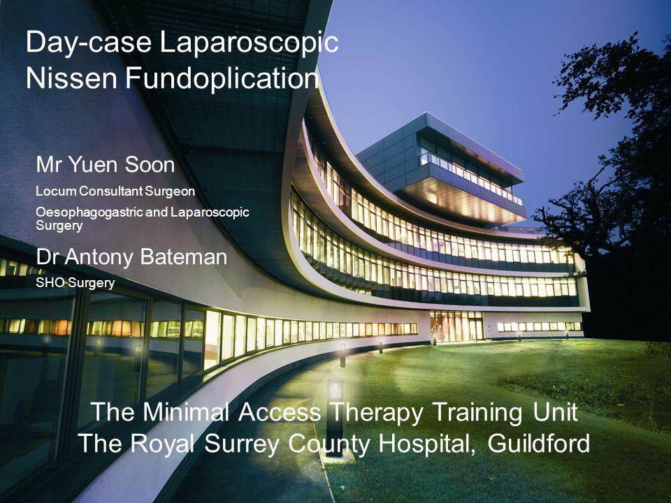 Day-case Laparoscopic Nissen Fundoplication