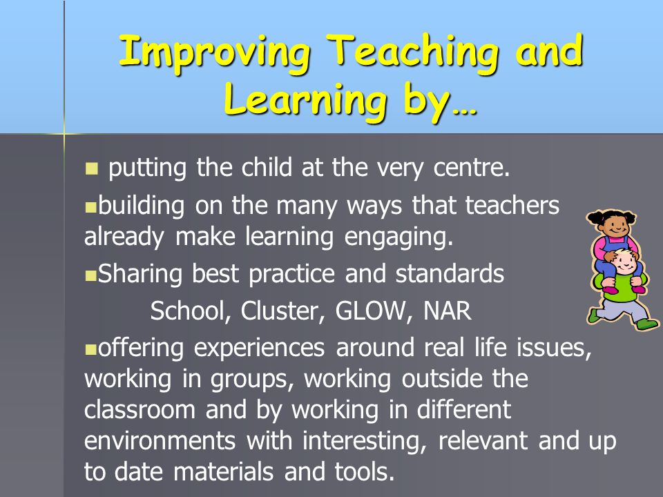 Improving Teaching and Learning by…