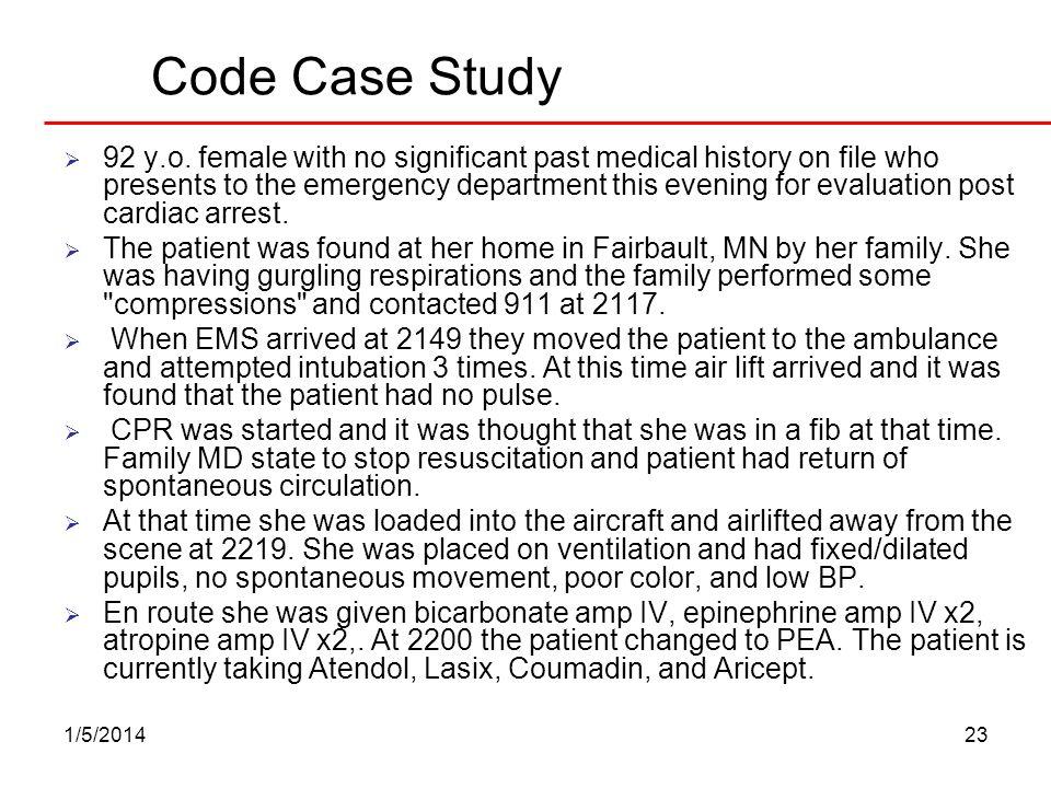 Code Case Study