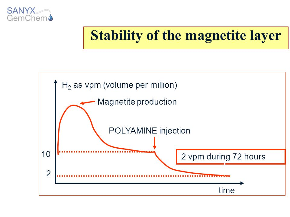 Stability of the magnetite layer