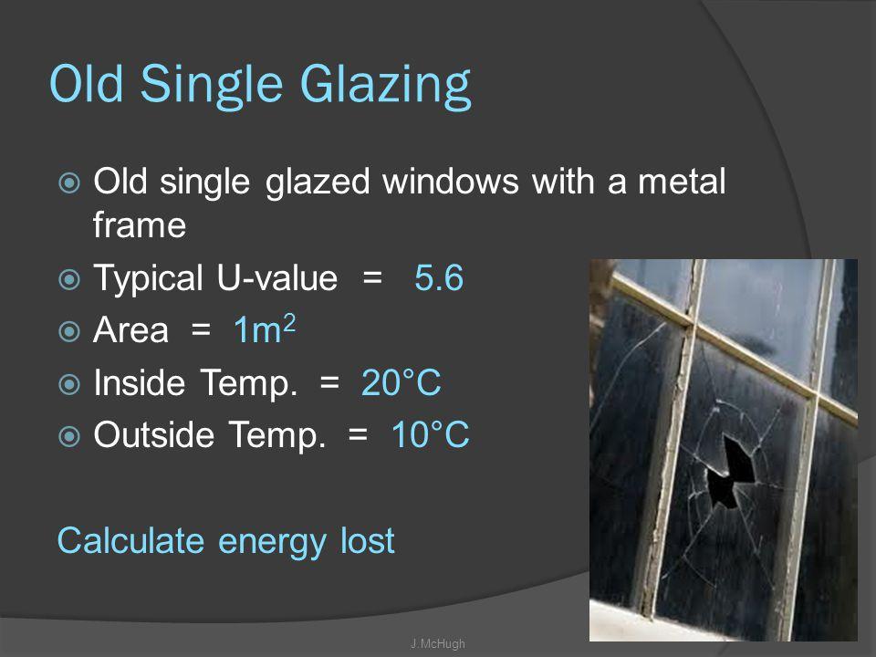 Old Single Glazing Old single glazed windows with a metal frame