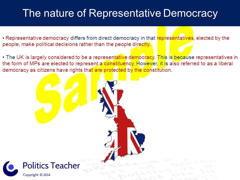 The nature of Representative Democracy