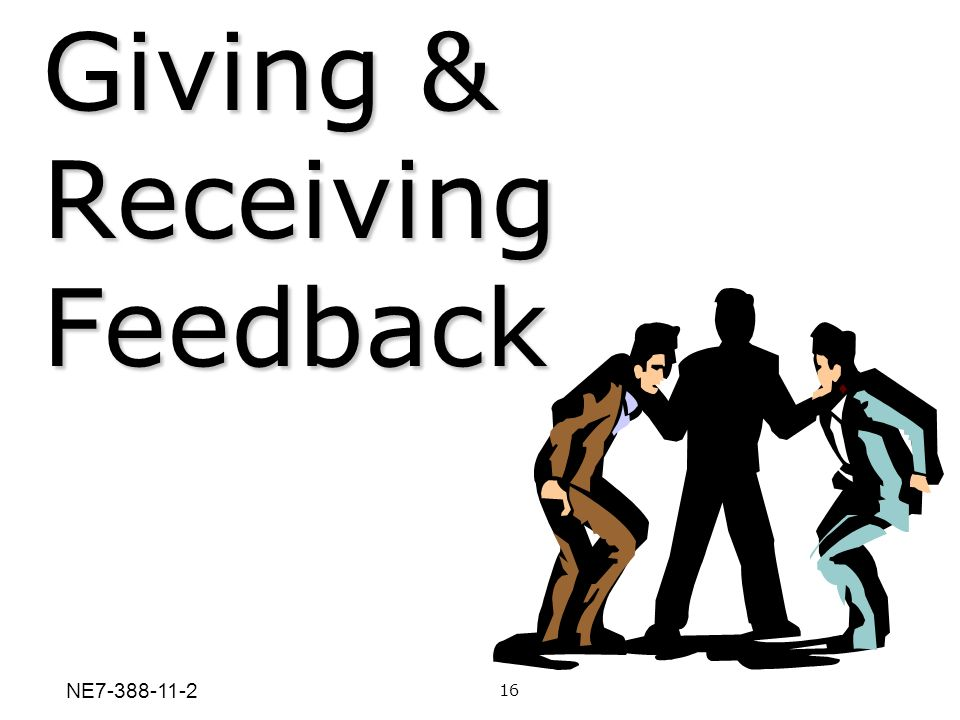 Giving & Receiving Feedback
