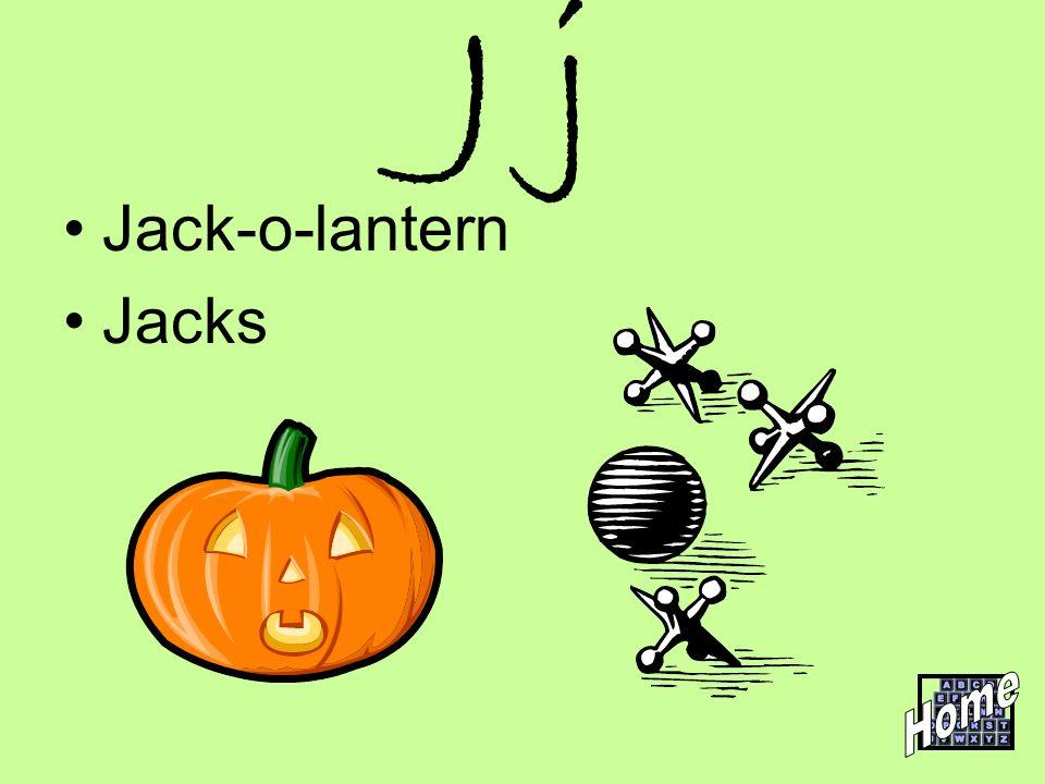 J j Jack-o-lantern Jacks Home