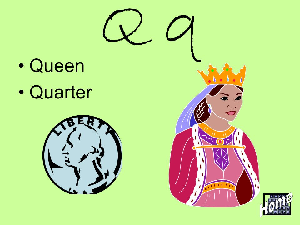 Q q Queen Quarter Home