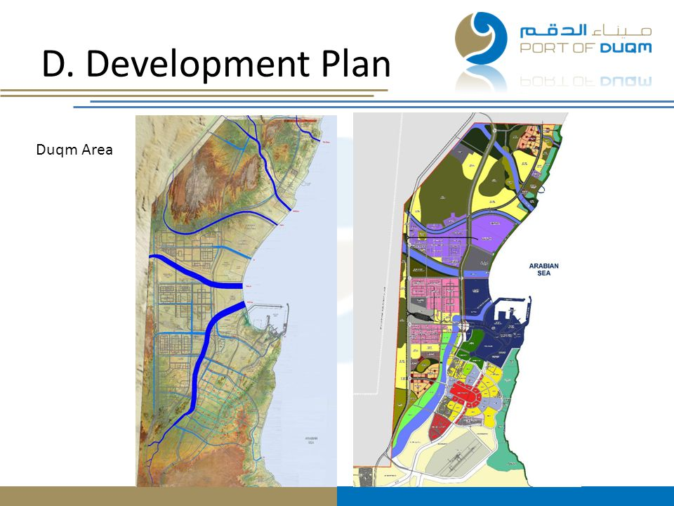 D. Development Plan Duqm Area