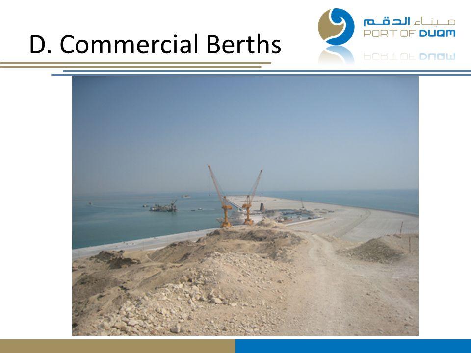 D. Commercial Berths