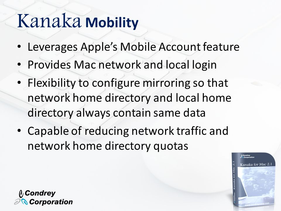 Kanaka Mobility Leverages Apple's Mobile Account feature