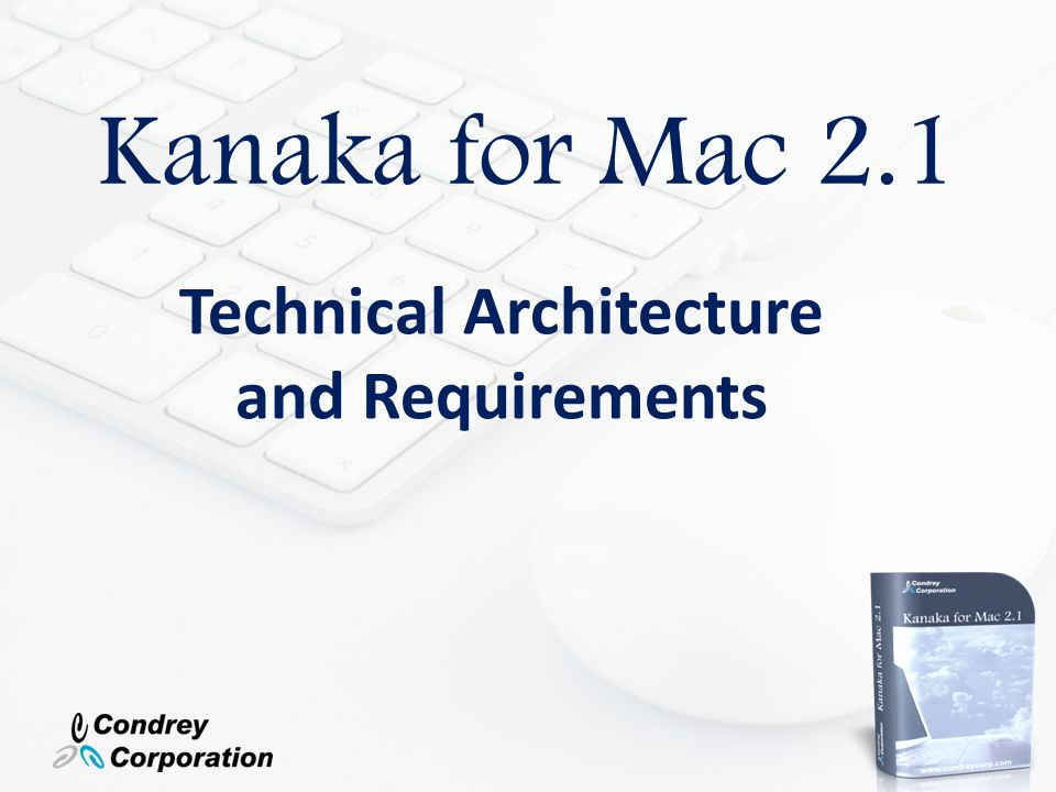 Technical Architecture and Requirements