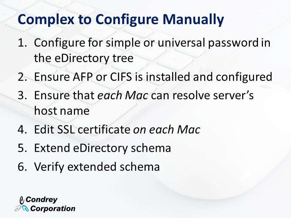 Complex to Configure Manually
