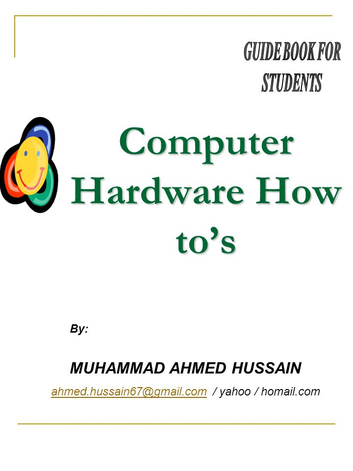 Computer Hardware How to's