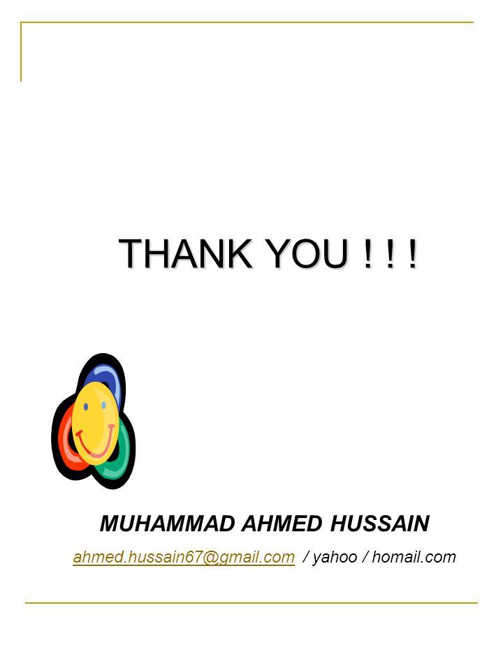 MUHAMMAD AHMED HUSSAIN
