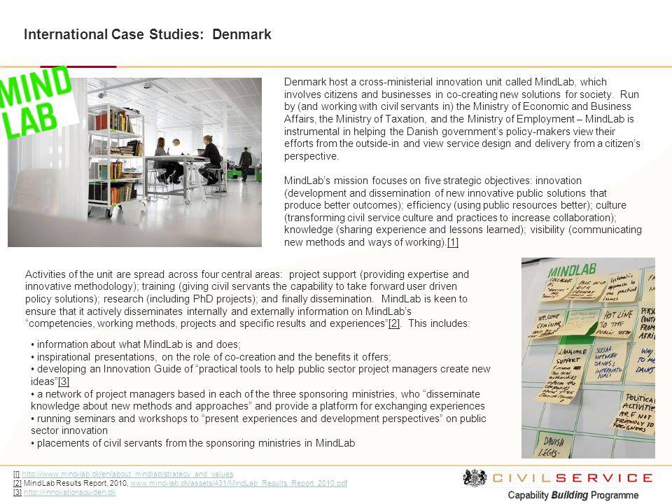International Case Studies: Denmark