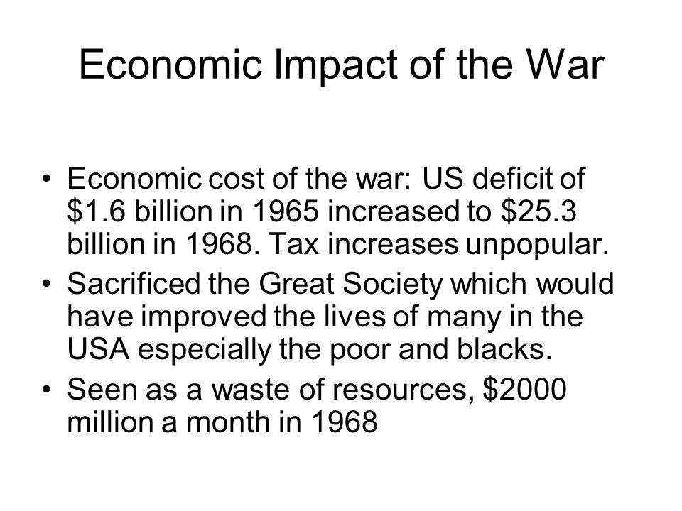 Economic Impact of the War
