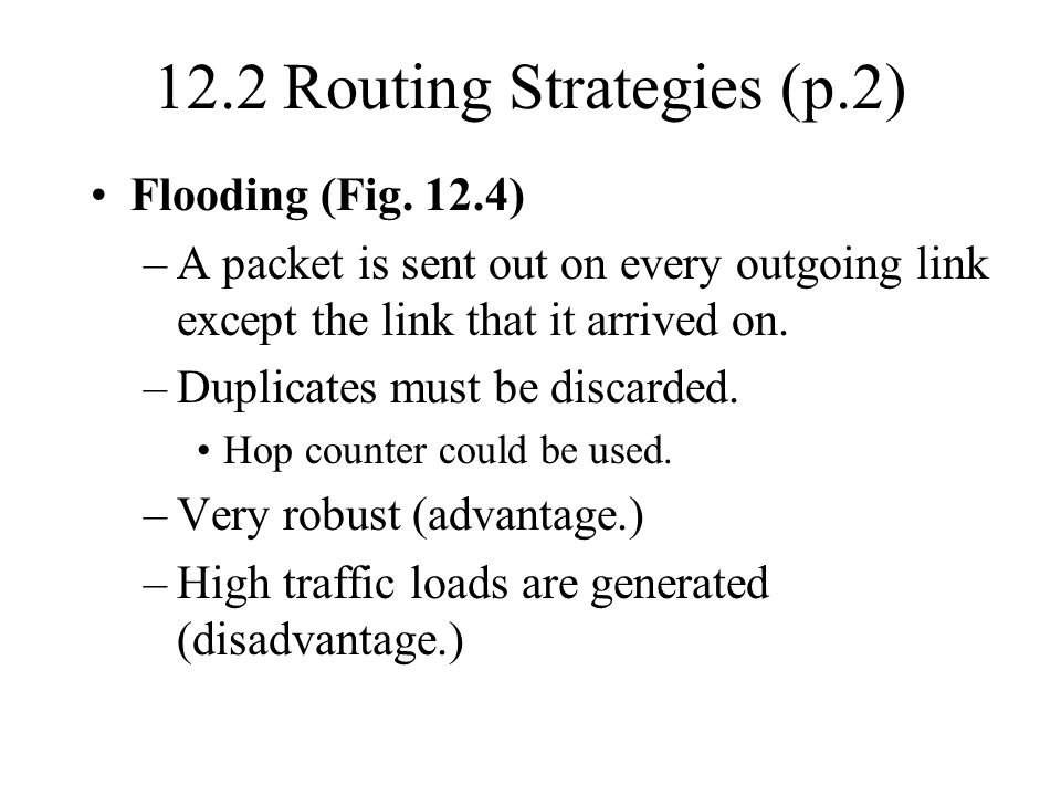 12.2 Routing Strategies (p.2)