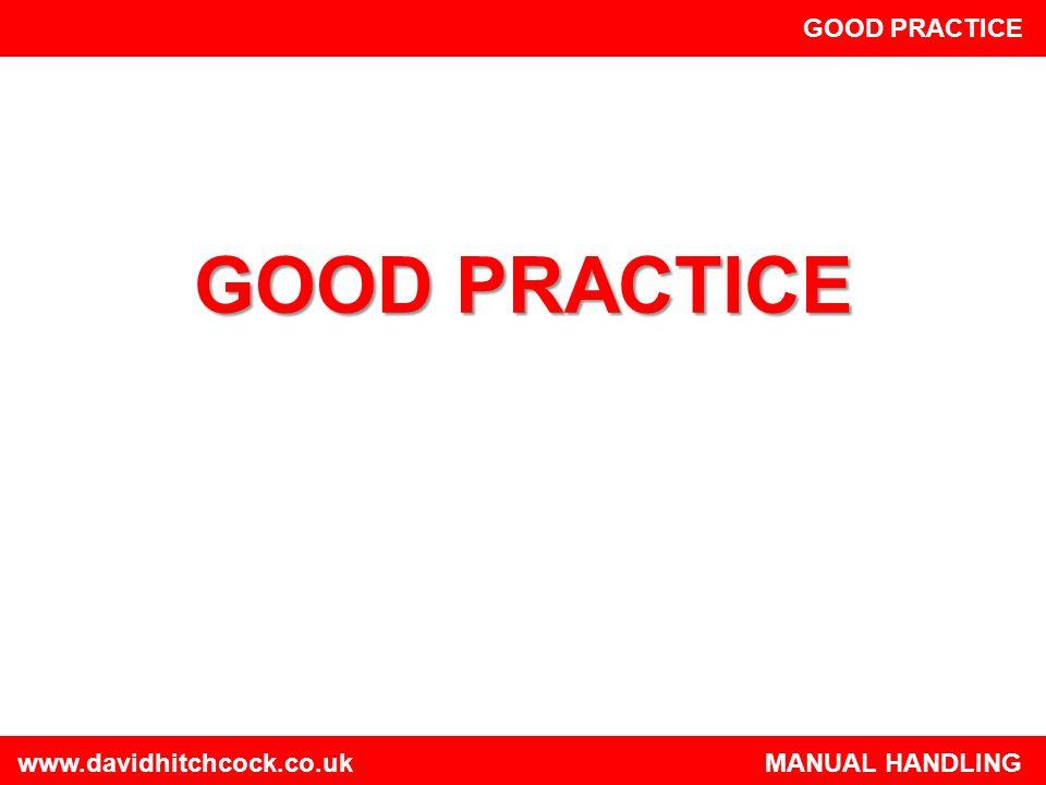 GOOD PRACTICE GOOD PRACTICE.