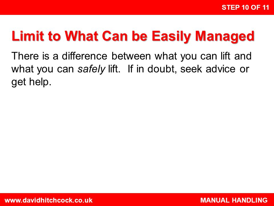 Limit to What Can be Easily Managed