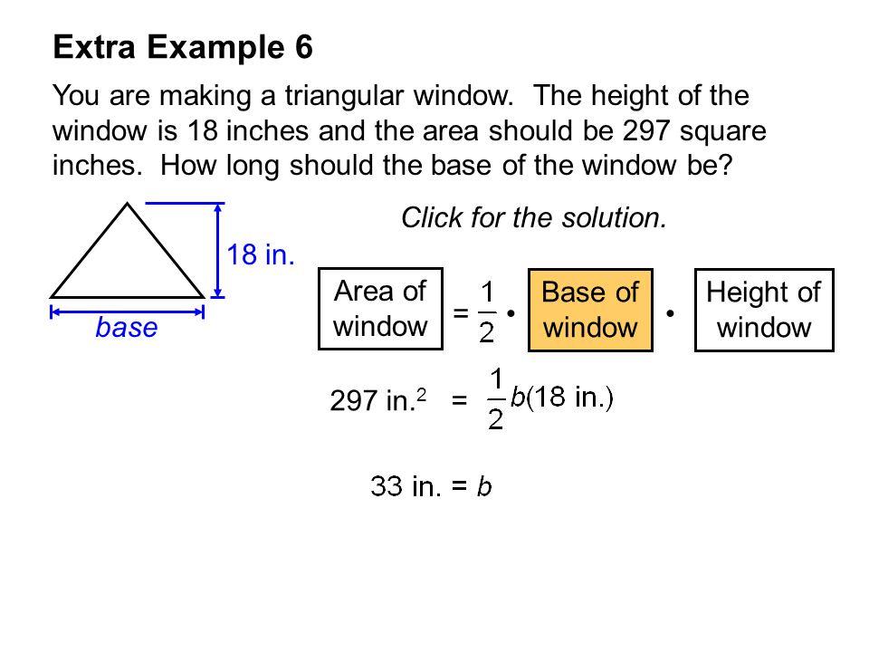 Extra Example 6
