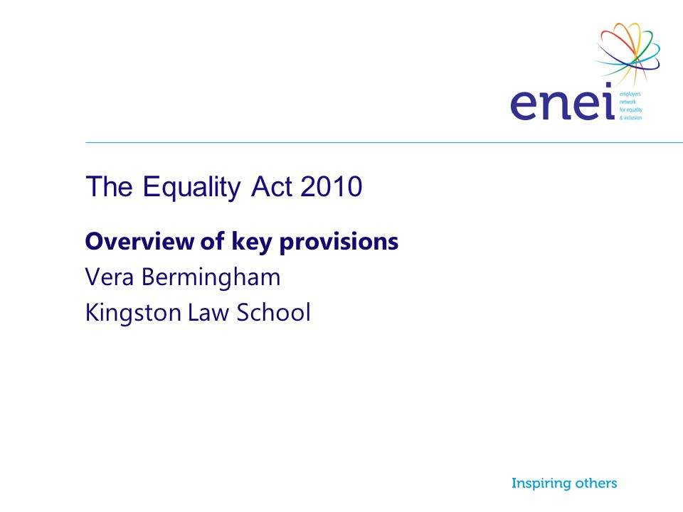 Overview of key provisions Vera Bermingham Kingston Law School