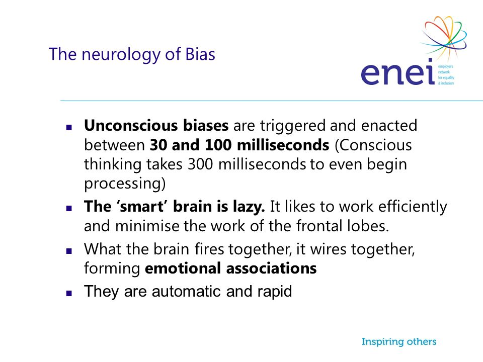 The neurology of Bias