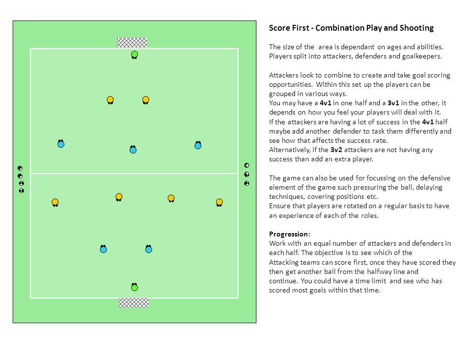 Score First - Combination Play and Shooting