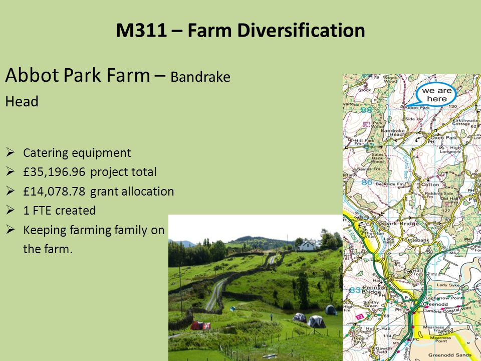 M311 – Farm Diversification