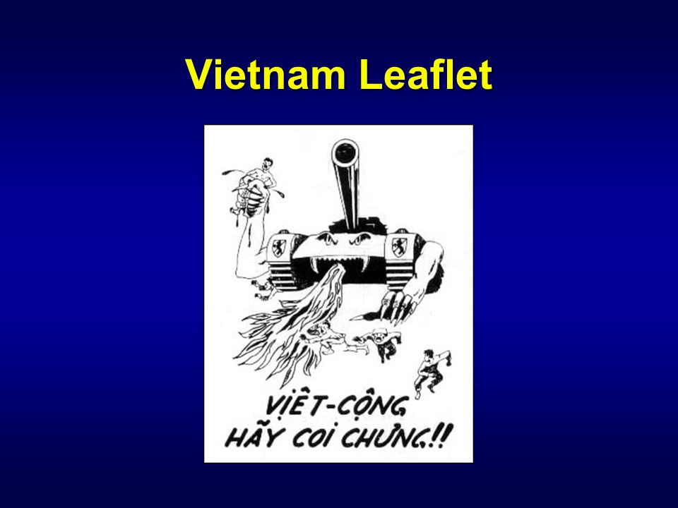 IW 110 PSYOP Notetaker Vietnam Leaflet. Vietcong Beware! There is nowhere to run, nowhere to hide!