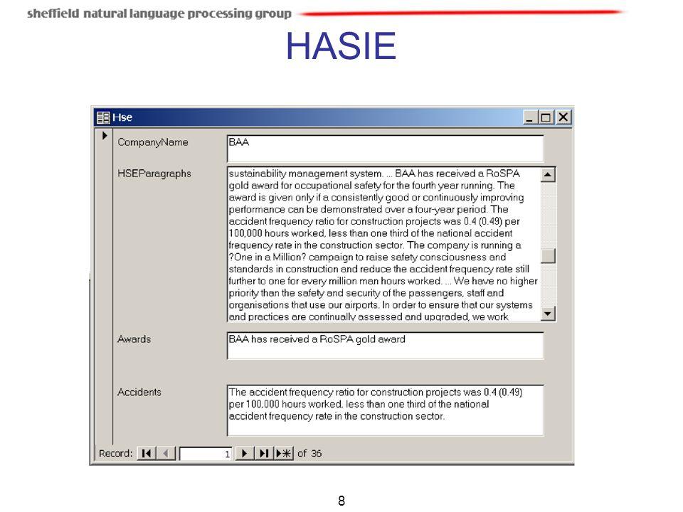HASIE 8