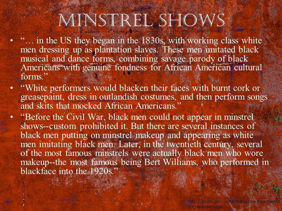 Minstrel Shows