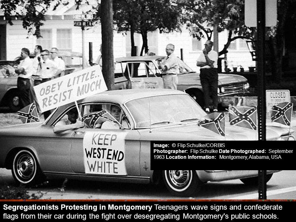 Image: © Flip Schulke/CORBIS Photographer: Flip Schulke Date Photographed: September 1963 Location Information: Montgomery, Alabama, USA