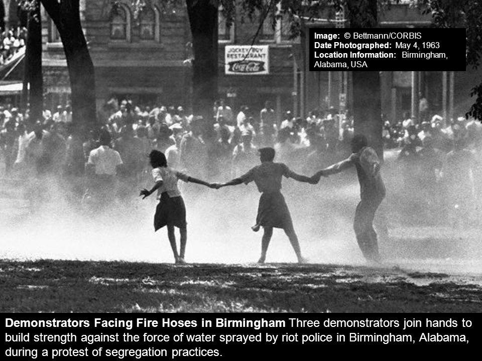 Image: © Bettmann/CORBIS Date Photographed: May 4, 1963 Location Information: Birmingham, Alabama, USA