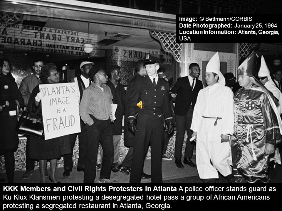 Image: © Bettmann/CORBIS Date Photographed: January 25, 1964 Location Information: Atlanta, Georgia, USA