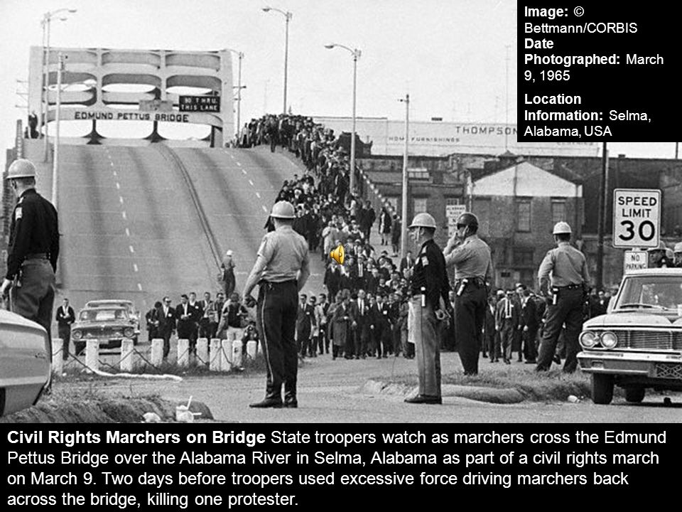 Image: © Bettmann/CORBIS Date Photographed: March 9, 1965